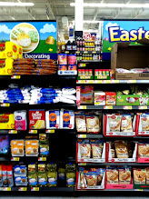 Photo: I went to the Easter baking section to look for ideas for my Easter treat.