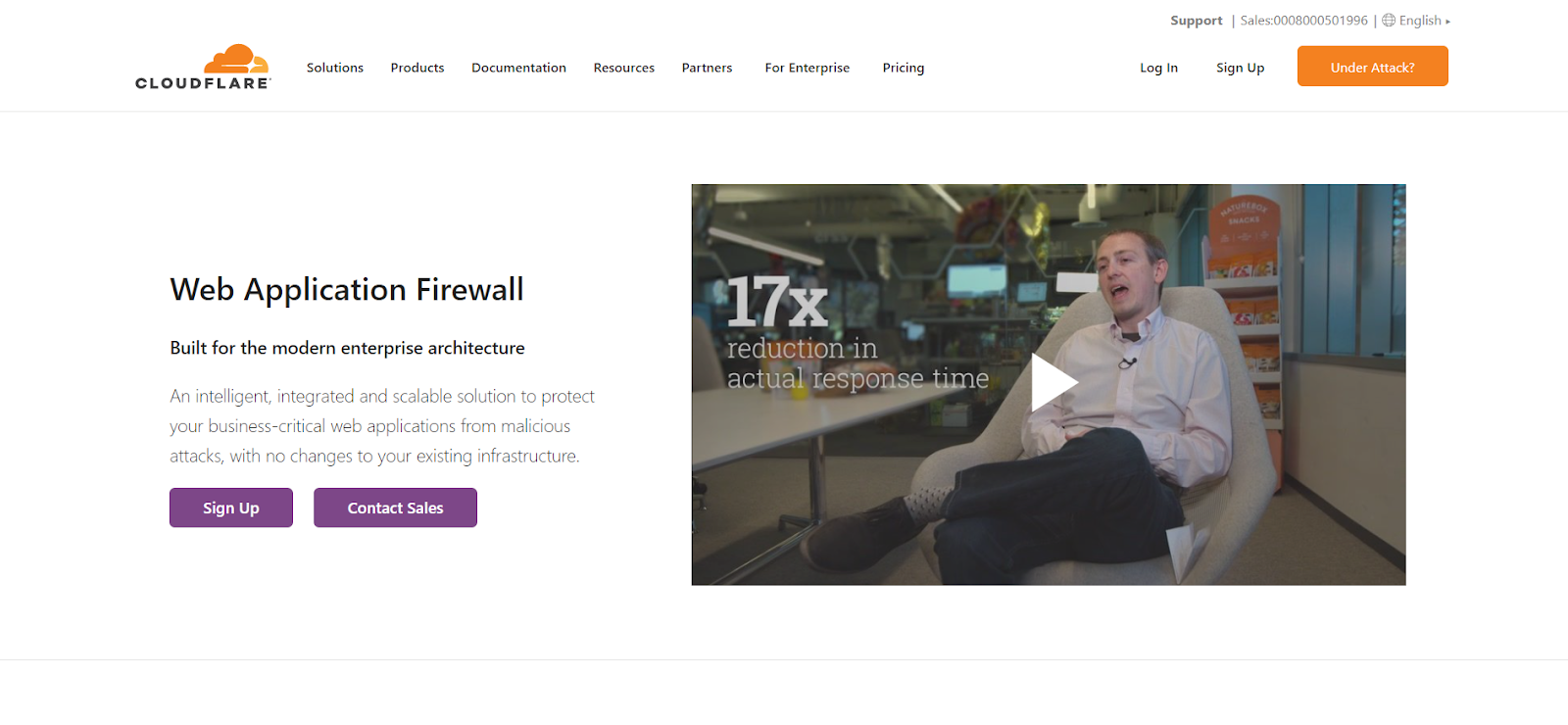 CloudFlare is a Web Application Firewall Application