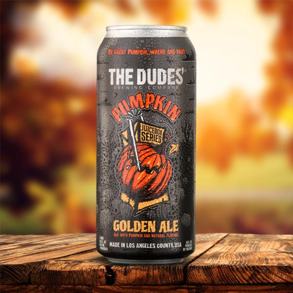 Logo of The Dudes' Juicebox Series: Pumpkin Golden Ale