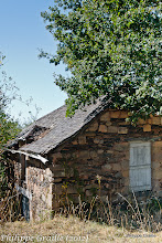 Photo: Cabane en ardoise pittoresque