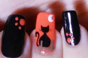nailart-soffiodidea-gatto-nero