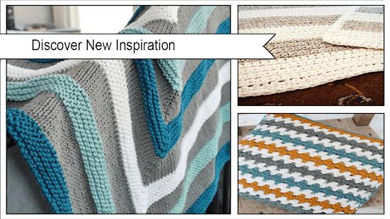 Einfache gestreifte häkeln Decke Muster – Apps bei Google Play