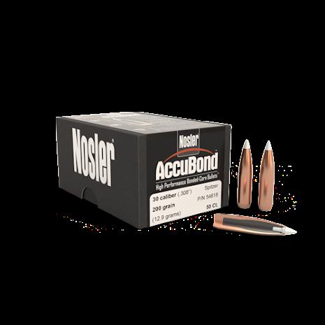 Nosler AccuBond® .30 200gr 50st