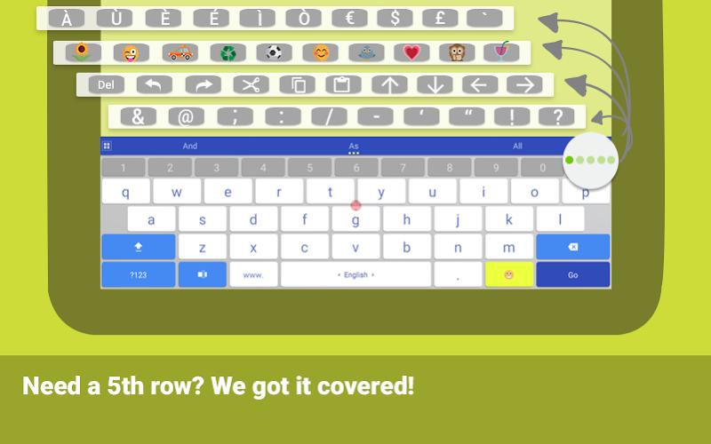ai.type keyboard Plus + Emoji Screenshot 8