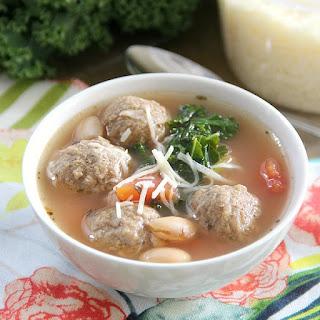 Tuscan Meatball Soup.