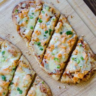 Buffalo Chicken Flatbread Pizza.