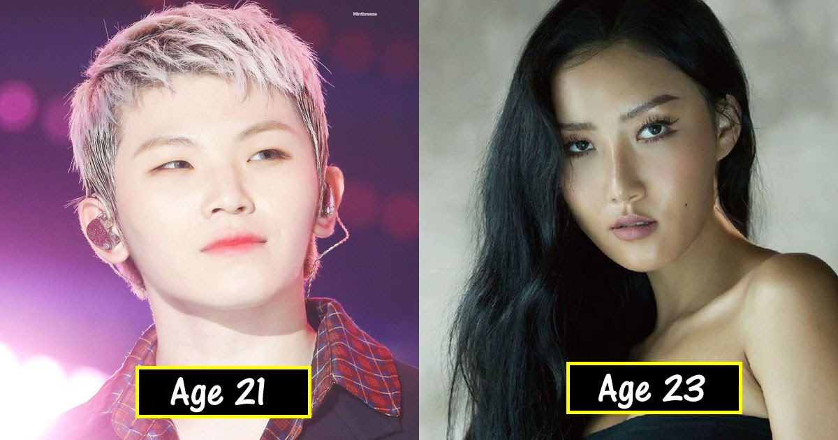 17 Idols Fans Mistake For Being Older Or Younger Than Their Ages