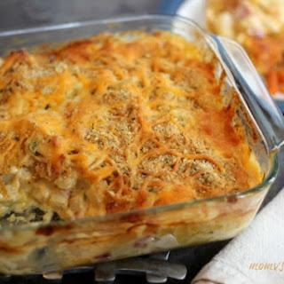 Ham and Cheese Potato Casserole.
