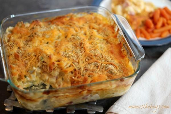 Ham and Cheese Potato Casserole Recipe