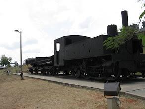 Photo: původní tažná lokomotiva