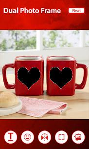 Coffee Cup Dual Photo Frames 2019 4