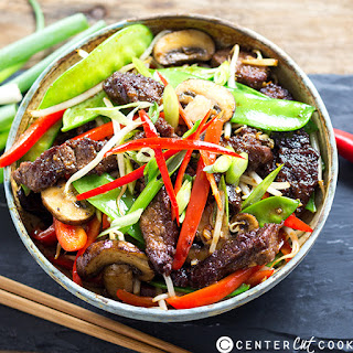 Asian Beef with Vegetables.