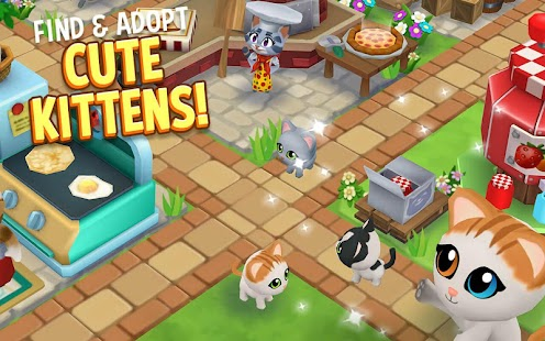 Kitty City: Kitty Cat Farm Simulation Game Screenshot