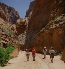 Photo: A walk up canyon.