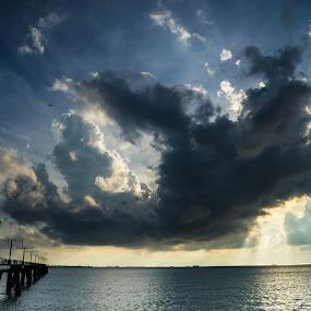 sky by Billy C S Wong - Landscapes Sunsets & Sunrises ( clouds, sky, sunset, sea, sun,  )