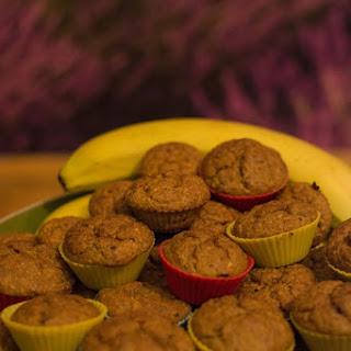 Banana Carrot Oat Muffins