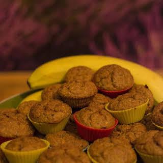 Banana Carrot Oat Muffins.