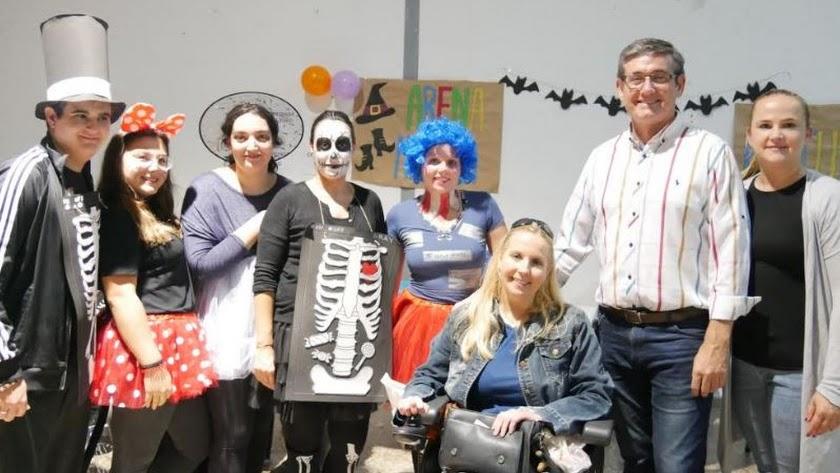 Celebración de Halloween en Adra en una edición anterior.