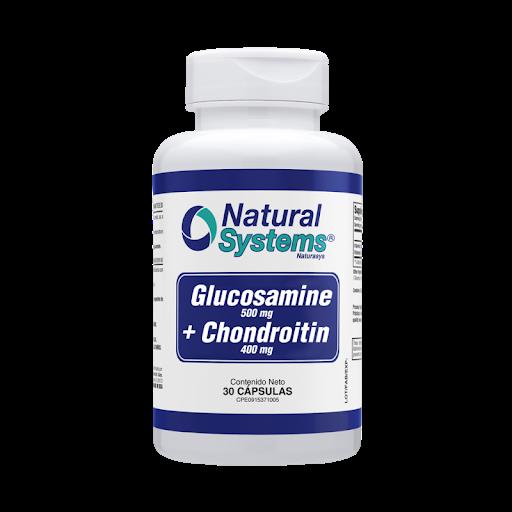 Glucosamine 500Mg+Chondroitin 400Mg 30Cap Natural Systems