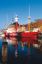 Photo: Feurschiff Deutsche Bucht im Ratsdelft, Fotograf: Helmut Jürjens