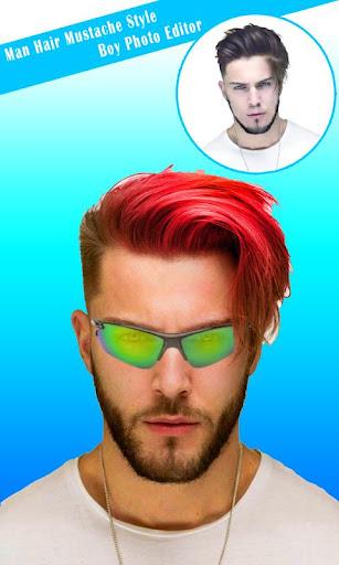 Hairstyles for Men screenshot 10
