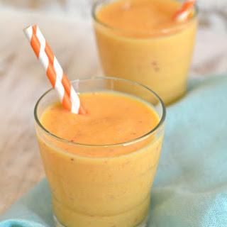 Peachy Mango Smoothies