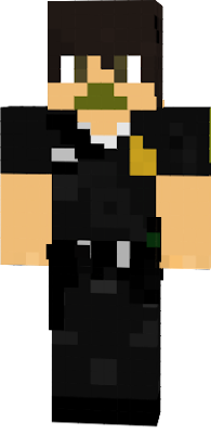 This is the police officer, (IN MINECRAFT)