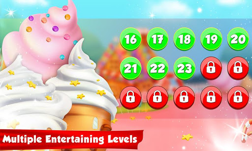 Ice Cream Cone Cupcake Factory: Candy Maker Games 1.0 screenshots 18