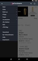 Screenshot of Parfumdreams - Perfume Shop