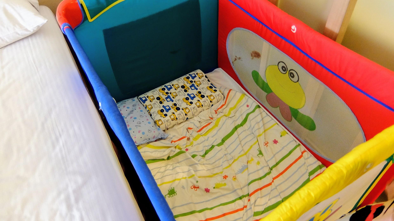 小朋友如果有告知,就有這種小床!