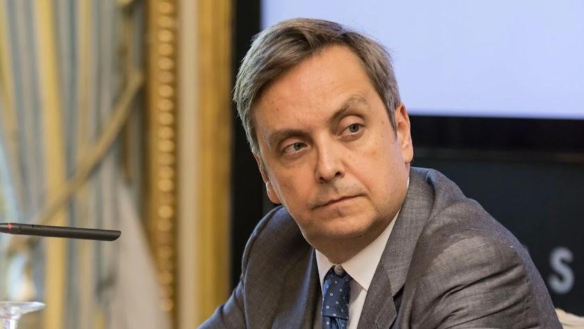 Antonio García, diplomático almeriense fallecido este domingo