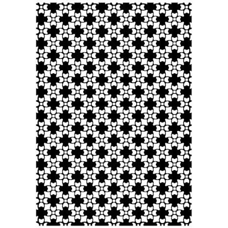 Kaisercraft Embossing Folder 4X6 - Petals UTGÅENDE