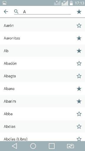 Diccionario Bu00edblico y Biblia Reina Valera 5.5.3 screenshots 2