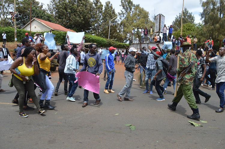 Image result for students demonstrates in kenya demonstrates over sexual assaults