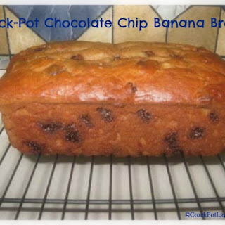 Crock-Pot Chocolate Chip Banana Bread