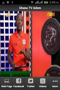 Ghana TV Adom screenshot 0