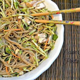 Asian Garden Pasta Salad Recipe