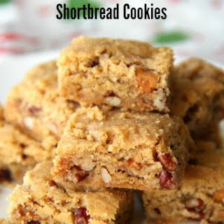 Butterscotch Pecan Shortbread Cookies