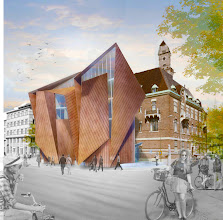 Photo: In the spring of 2014 WMU will move into the center of Malmö. A new addition designed by renowned architect Kim Utzon will connect to the existing, historic Tornhuset building near the train station. The new facilities will essentially double WMU's current floor space.