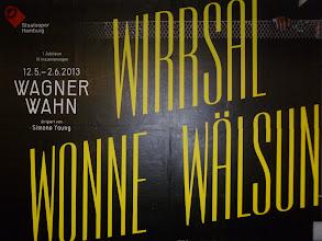 Photo: WAGNER-WAHN in Hamburg. Tristan und Isolde im Mai 2013 - die Rezension von Dr. Klaus Billand finden Sie in den Kritiken. Foto: Klaus Billand