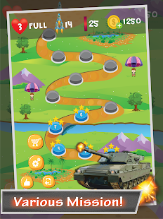 Tank Sky War- screenshot thumbnail
