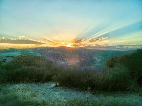 Photo: Sunset in Laguna Canyon 2