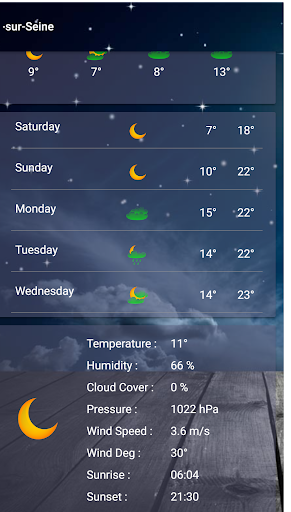 Weather 0.9.5 screenshots 2