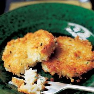 Chive Risotto Cakes.