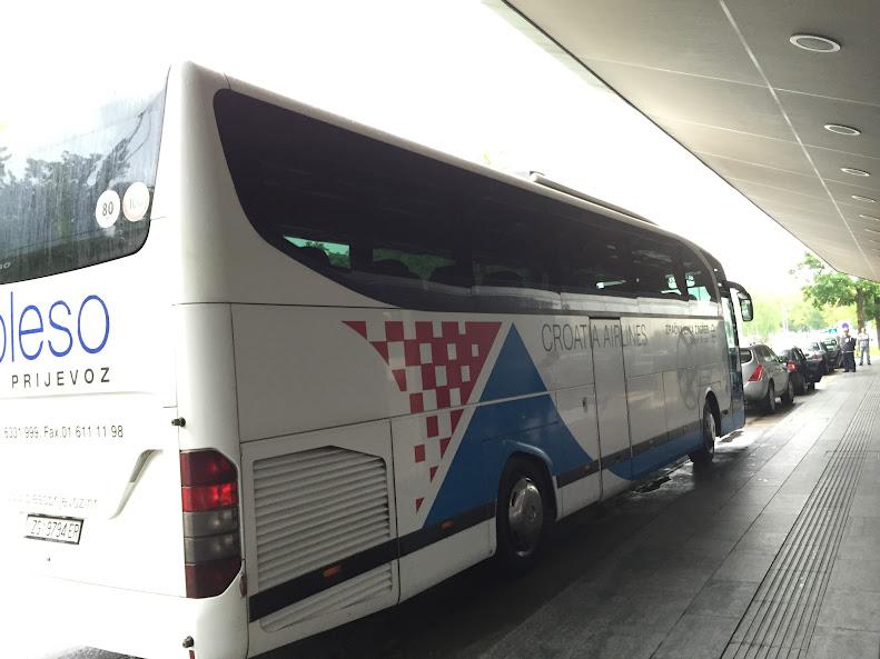 ザグレブ バス