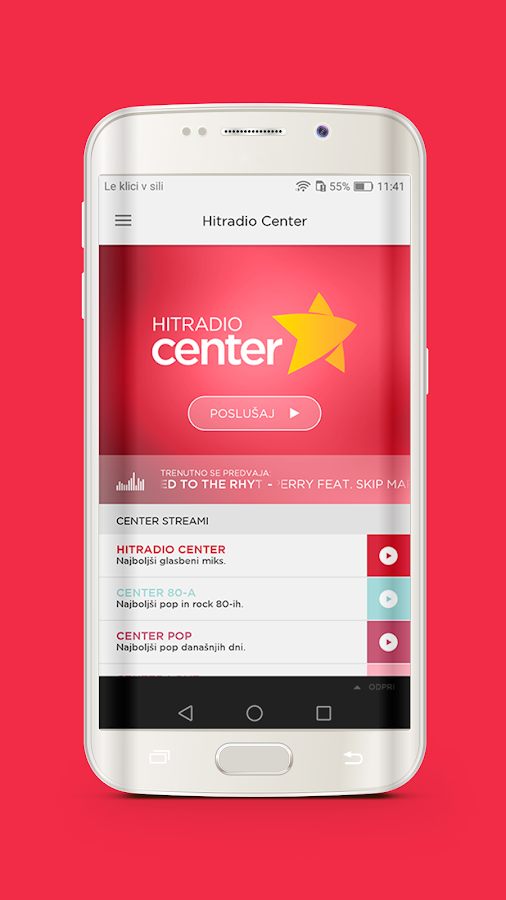 Hitradio Center- screenshot