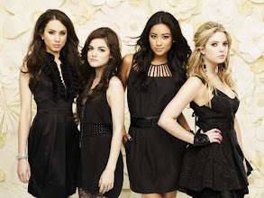 """Photo: PRETTY LITTLE LIARS - ABC Family's """"Pretty Little Liars"""" stars Troian Bellisario as Spencer Hastings, Lucy Hale as Aria Montgomery, Shay Mitchell as Emily Fields and Ashley Benson as Hanna Marin. (ABC FAMILY/ANDREW ECCLES)"""