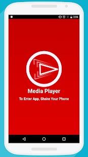 Media Player - náhled