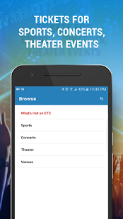Event Tickets Center – Buy Tix- screenshot thumbnail