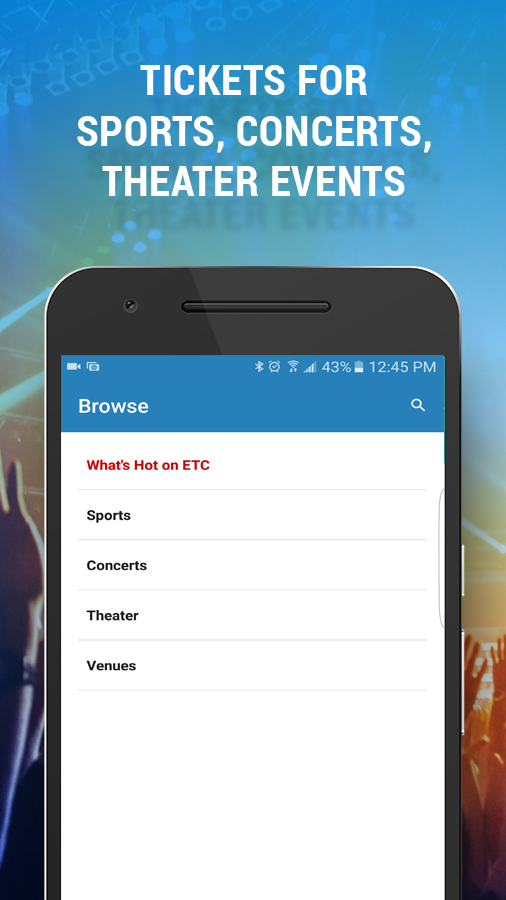 Event Tickets Center – Buy Tix- screenshot